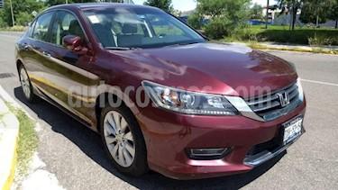 Foto venta Auto usado Honda Accord 4p EXL Sedan L4/2.4 Aut Navi (2013) color Rojo precio $215,000