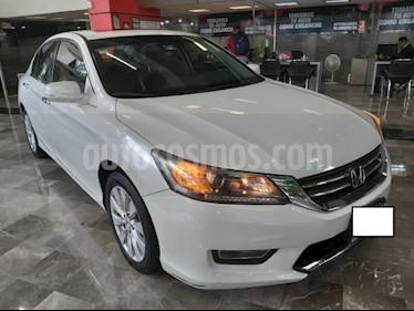 Foto venta Auto usado Honda Accord 4p EXL Sedan L4/2.4 Aut Navi (2013) color Blanco precio $197,000