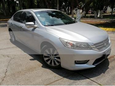 Foto venta Auto usado Honda Accord 4p EXL Sedan L4/2.4 Aut Navi (2013) color Plata precio $210,000