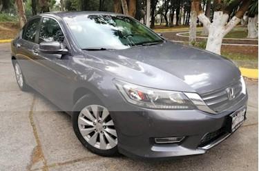 Foto venta Auto usado Honda Accord 4p EXL Sedan L4/2.4 Aut (2013) color Gris precio $210,000