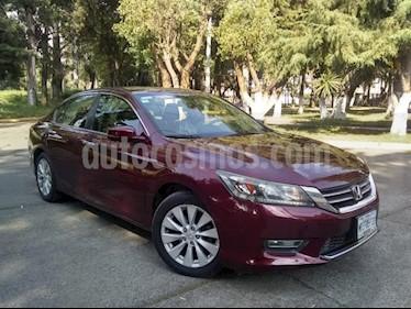 Foto venta Auto usado Honda Accord 4p EXL Sedan L4/2.4 Aut (2013) color Rojo precio $190,000