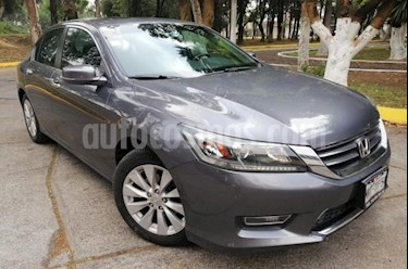 Foto venta Auto usado Honda Accord 4p EXL Sedan L4/2.4 Aut (2013) color Gris precio $199,000