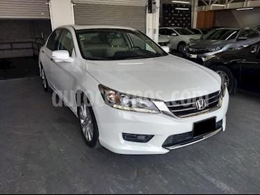 Foto venta Auto usado Honda Accord 4p EXL Sedan V6/3.5 Aut (2014) color Blanco precio $207,000