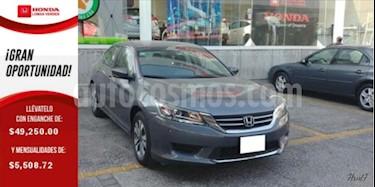 Foto venta Auto usado Honda Accord 4p LX Sedan L4/2.4 Aut (2013) color Gris precio $187,000