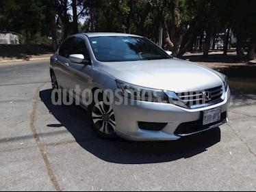 Foto venta Auto usado Honda Accord 4p LX Sedan L4/2.4 Aut (2015) color Plata precio $265,000
