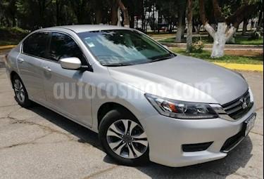 Foto venta Auto usado Honda Accord 4p LX Sedan L4/2.4 Aut (2014) color Plata precio $212,000
