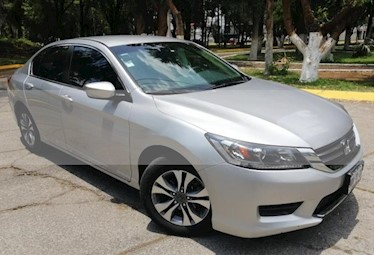 Foto venta Auto usado Honda Accord 4p LX Sedan L4/2.4 Aut (2014) color Plata precio $219,000