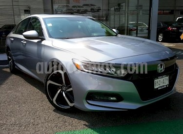 Foto Honda Accord 4p Sport Sedan L4/1.5/T Aut usado (2018) color Plata precio $420,000