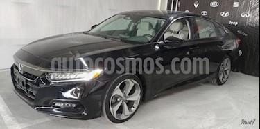 Foto venta Auto usado Honda Accord 4p Touring Sedan L4/2.0/T Aut (2018) color Negro precio $562,900