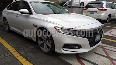 Honda Accord 4p Touring Sedan L4/2.0/T Aut usado (2018) color Amarillo precio $490,000