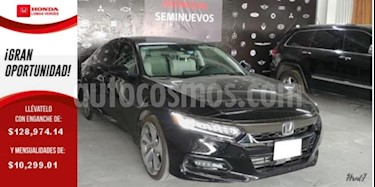 Honda Accord 4p Touring Sedan L4/2.0/T Aut usado (2018) color Negro precio $452,000