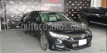 Foto venta Auto usado Honda Accord 4p Touring Sedan L4/2.0/T Aut (2018) color Negro precio $509,000