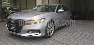 Foto venta Auto usado Honda Accord 4p Touring Sedan L4/2.0/T Aut (2018) color Plata precio $518,000