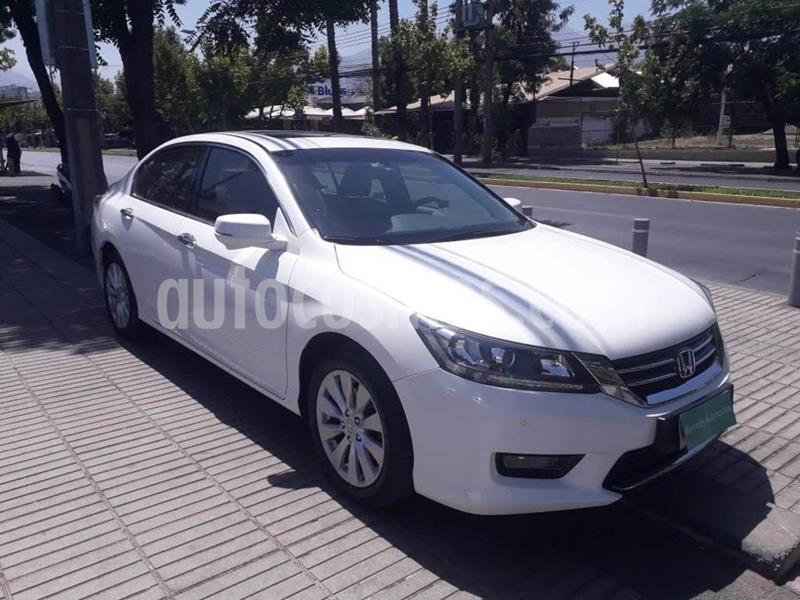 Honda Accord 3.5L V6 usado (2015) color Blanco Perla precio $11.680.000