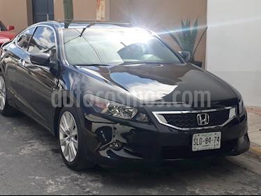 Foto venta Auto usado Honda Accord Coupe EX 3.5L (2008) color Negro precio $140,000