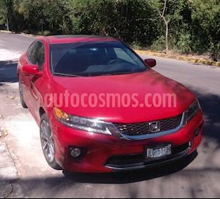 Foto venta Auto usado Honda Accord Coupe EX 3.5L (2014) color Rojo precio $235,000