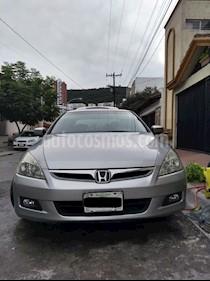 Foto venta Auto Seminuevo Honda Accord EX 2.4L (2007) color Gris Plata  precio $78,000