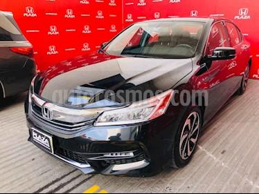 Foto venta Auto usado Honda Accord EX 2.4L (2017) color Negro precio $385,000