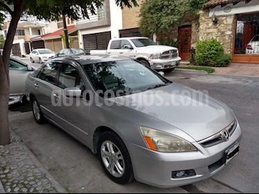 Honda Accord EX 2.4L usado (2007) color Gris Plata  precio $78,000