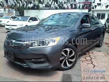 Foto venta Auto usado Honda Accord EX-L 2.4L (2016) color Gris Antracita precio $285,000