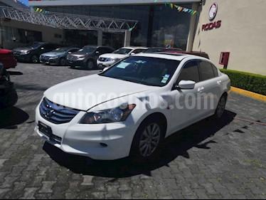 Foto venta Auto usado Honda Accord EX-L 2.4L (2012) color Blanco precio $160,000