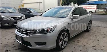 Foto venta Auto usado Honda Accord EX-L 2.4L (2014) color Plata precio $235,000
