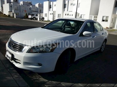 Foto venta Auto usado Honda Accord EX-L 3.5L V6 (2008) color Blanco Marfil precio $110,000