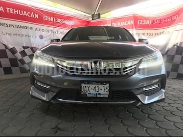 Foto venta Auto usado Honda Accord EX-L 3.5L V6 (2017) color Gris Antracita precio $410,000