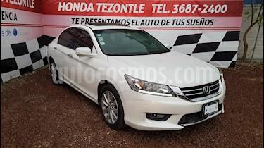 Honda Accord EXL Navi usado (2014) color Blanco precio $230,000