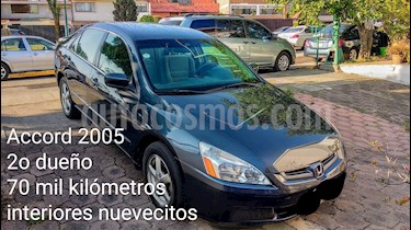Foto venta Auto usado Honda Accord LX 2.4L (2005) color Azul precio $80,000