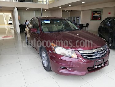 Foto venta Auto usado Honda Accord LX 2.4L (2012) color Vino Tinto precio $140,000