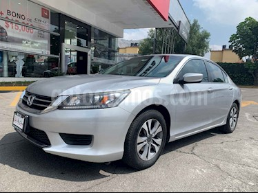 Foto venta Auto usado Honda Accord LX  (2013) color Plata precio $185,000