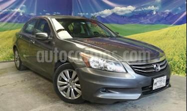 Honda Accord 4P EX L4 TA CLIMATRONIC 6 CD QC PIEL RA-17 usado (2012) color Gris precio $155,000