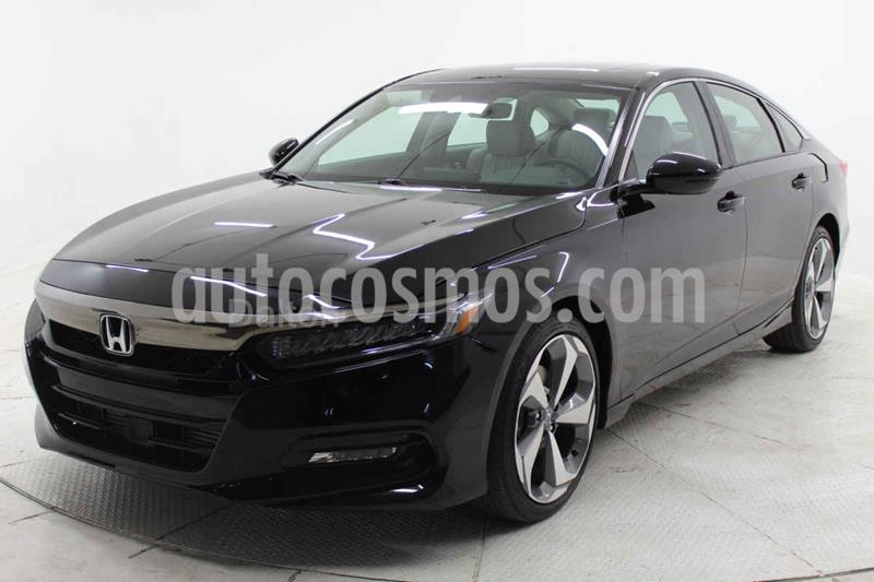 Honda Accord Touring usado (2020) color Negro precio $569,000