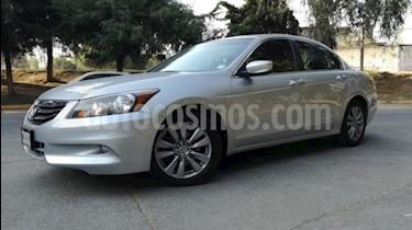 Honda Accord 4P EX V6 TA CLIMATRONIC 6 CD QC PIEL F. NIEBLA RA- usado (2012) color Plata precio $174,000