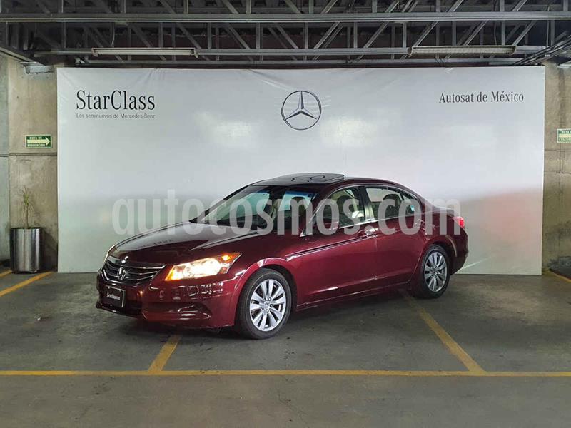Honda Accord EX-S 2.4L usado (2011) color Rojo precio $139,000