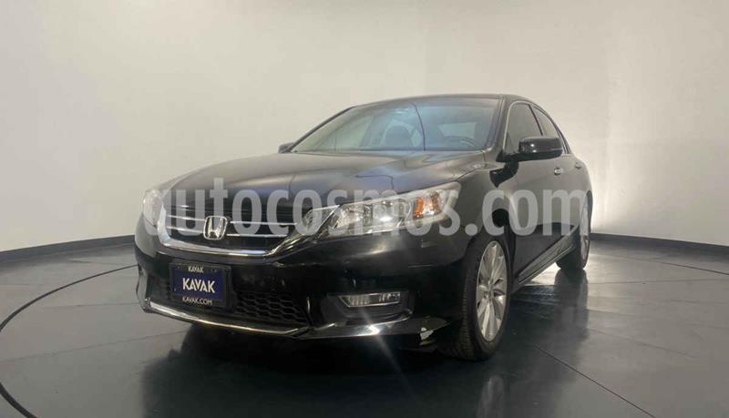 Honda Accord EXL  usado (2013) color Negro precio $209,999