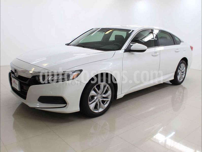 Honda Accord EX usado (2018) color Blanco precio $345,000