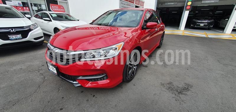 Honda Accord Sport usado (2016) color Rojo precio $265,000