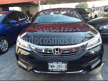 Honda Accord EXL V6 usado (2017) color Negro Cristal precio $345,000