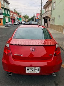 Honda Accord Coupe EX 3.5L usado (2008) color Rojo precio $112,000