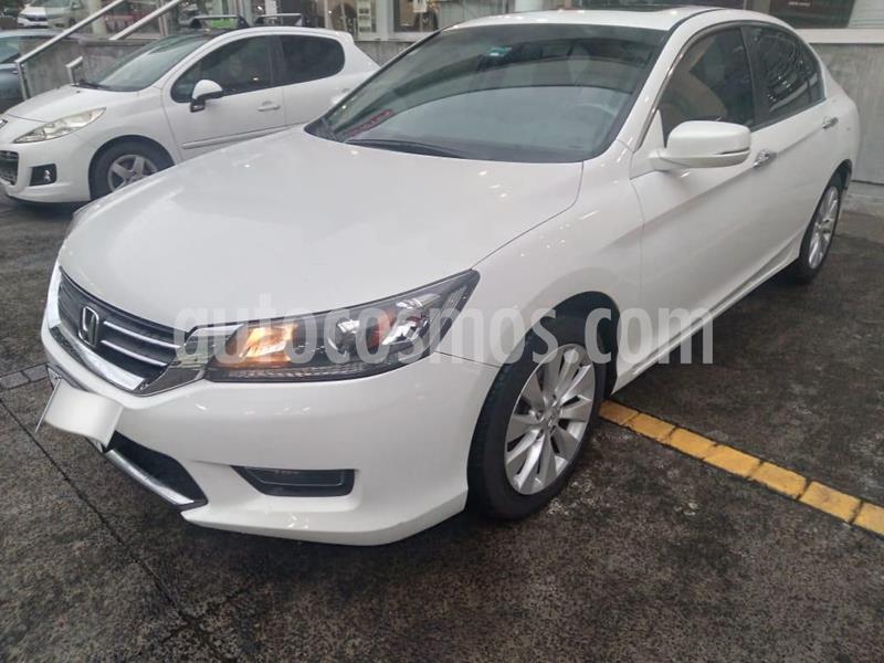 Honda Accord EX 2.4L usado (2014) color Blanco precio $209,000