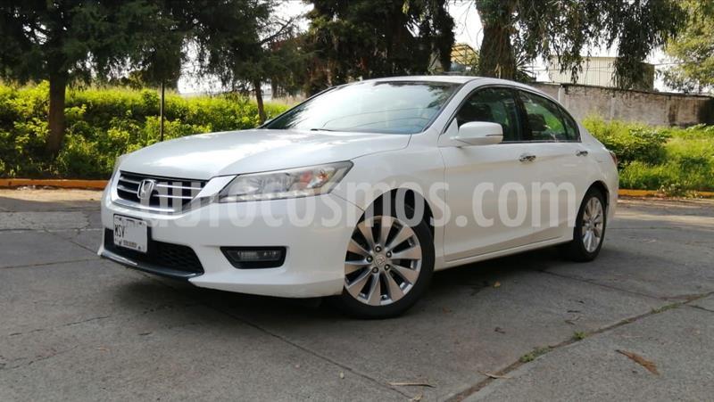 Honda Accord EX-L 3.5L V6 usado (2014) color Blanco precio $185,000