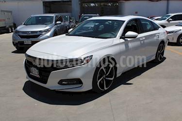 Honda Accord 4p Sport Sedan L4/1.5 Aut usado (2019) color Blanco precio $459,000