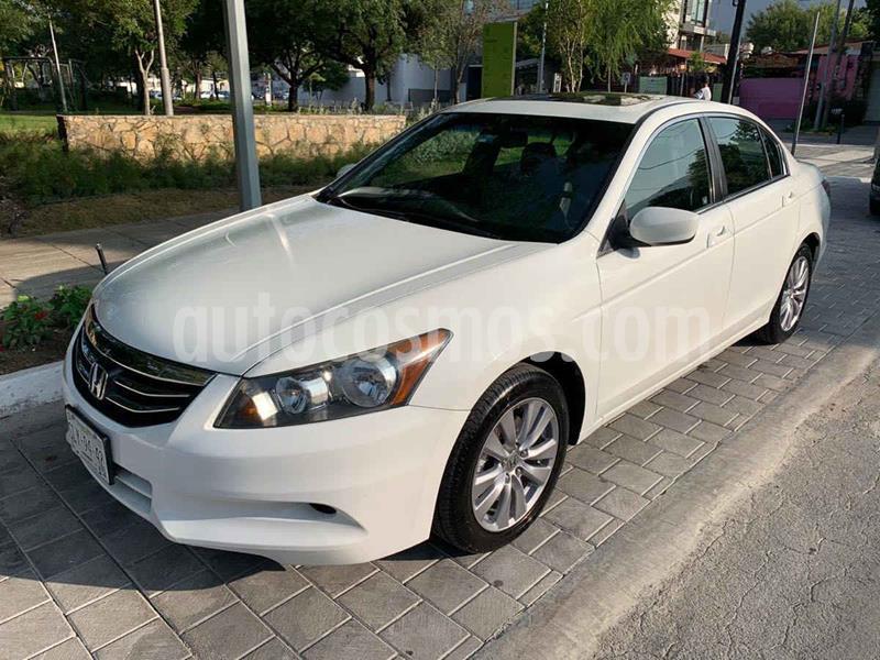 Honda Accord EX-S 2.4L usado (2012) color Blanco precio $179,900