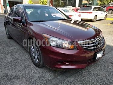Honda Accord 4P LX L4 TA CD RA-16 usado (2012) color Rojo precio $149,000