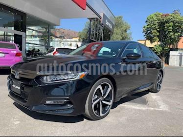 Honda Accord 4p Sport Sedan L4/1.5/T Aut usado (2018) color Negro precio $468,000