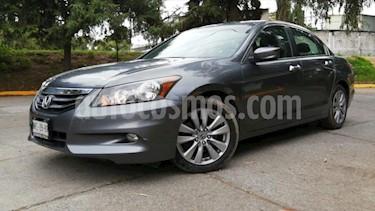 Honda Accord 4P EX V6 TA A/AC. AUT. 6 CD QC PIEL F. NIEBLA RA- usado (2012) color Gris precio $165,000