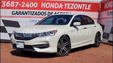 Honda Accord Sport usado (2017) color Blanco precio $299,000