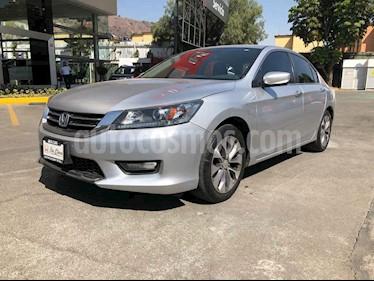 Honda Accord 4p Sport Sedan L4/2.4 Aut usado (2015) color Plata precio $228,000